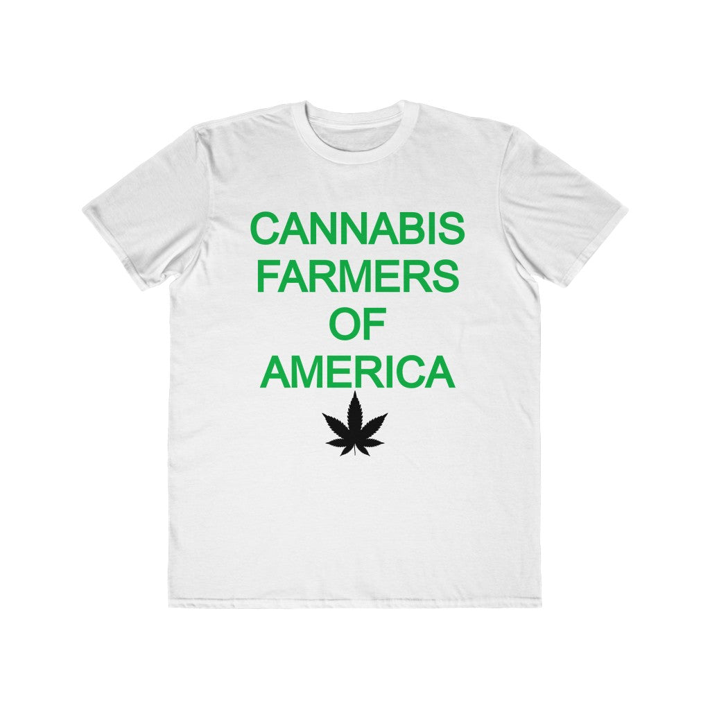 NEW! Cannabis Farmers Of America- Men's Lightweight Tee