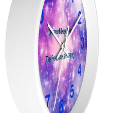 Load image into Gallery viewer, SMJ INFINITE GALAXIES- Wall clock