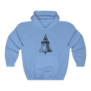 BELL & PLEDGE HOODED SWEATSHIRT (LIGHT COLORS)
