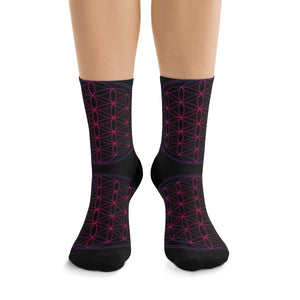 -Flower Of Life- Socks