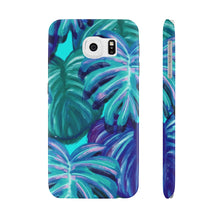 Load image into Gallery viewer, TROPICAL BLUE- Case Mate Slim Phone Cases