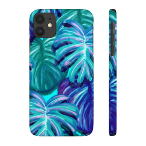 TROPICAL BLUE- Case Mate Slim Phone Cases