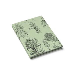 VINTAGE BOTANICAL ILLUSTRATION- Blank Sketch Journal