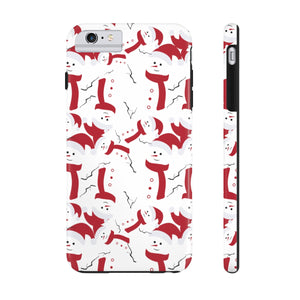 Jolly Snowmen! Cell Phone Cases