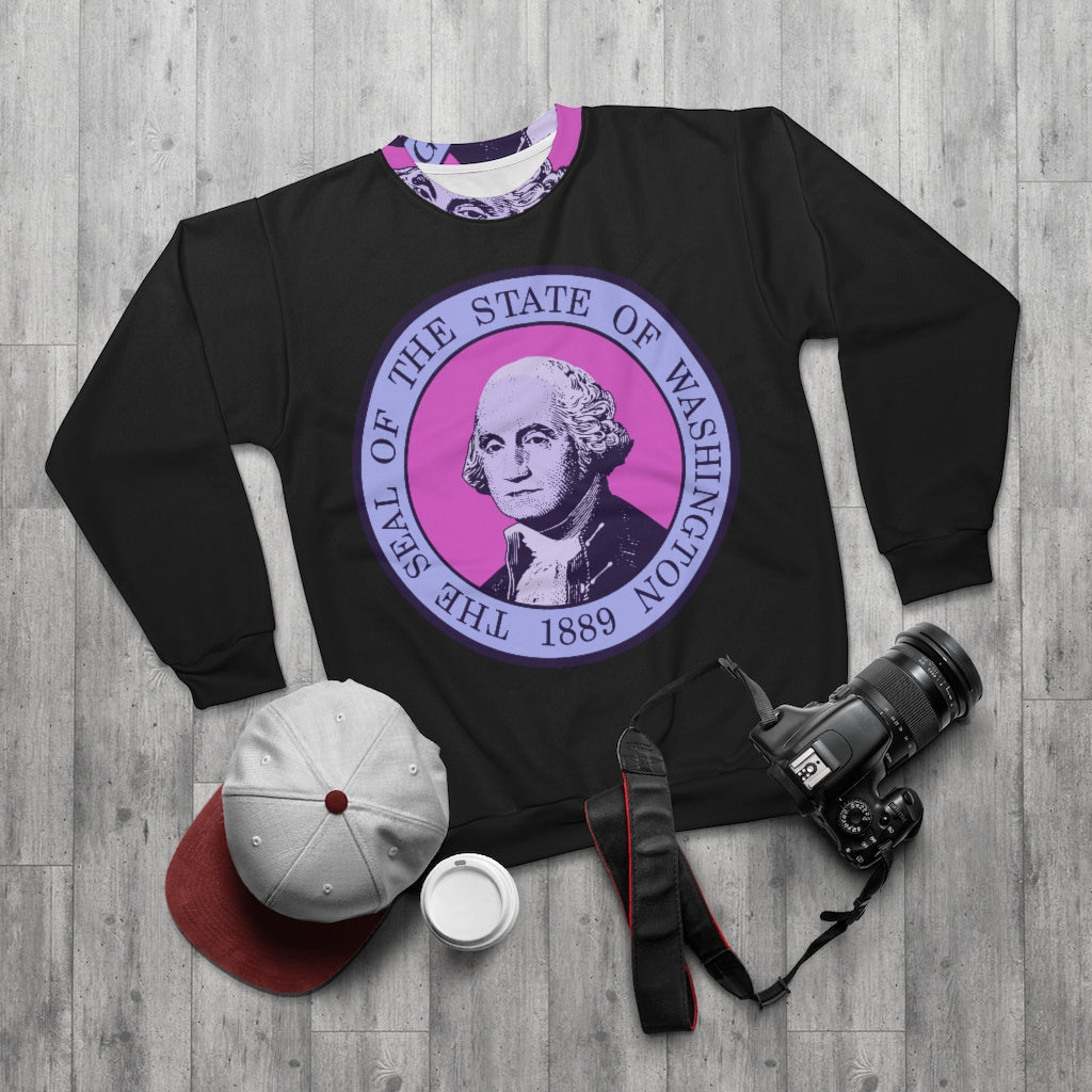 NEW! *SEAL OF WASHINGTON STATE 1889* SWEATSHIRT