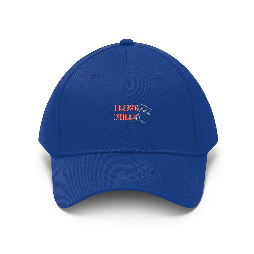 NEW! I LOVE PHILLY- Unisex Twill Hat