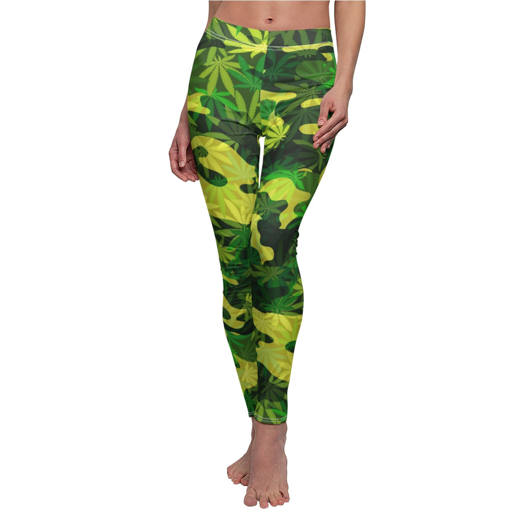 CANNA-CAMO: Women's Casual Leggings
