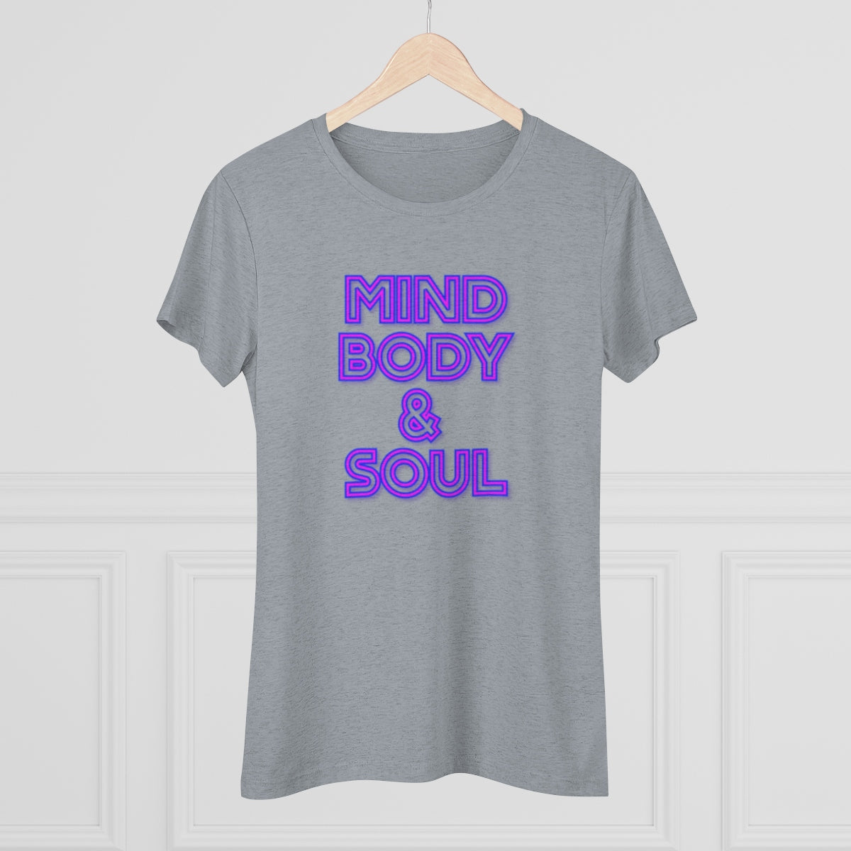 MIND, BODY & SOUL-Women's Triblend Tee