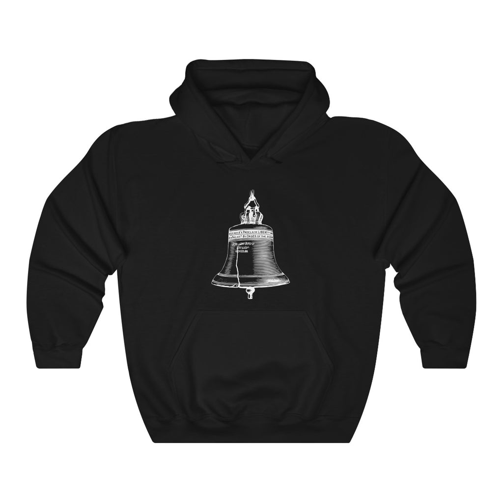 BELL & PLEDGE HOODED SWEATSHIRT (DARK & BRIGHT COLORS)