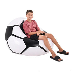 "1PC, 45""X44""X25"" INFLATABLE SOCCER BALL CHAIR."