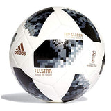 adidas FIFA World Cup Glider Ball White/Black/Silver Metallic, 5