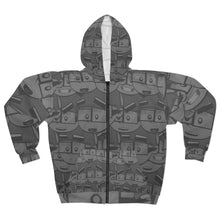 Load image into Gallery viewer, JewToons All around Hoodie! (Mono)