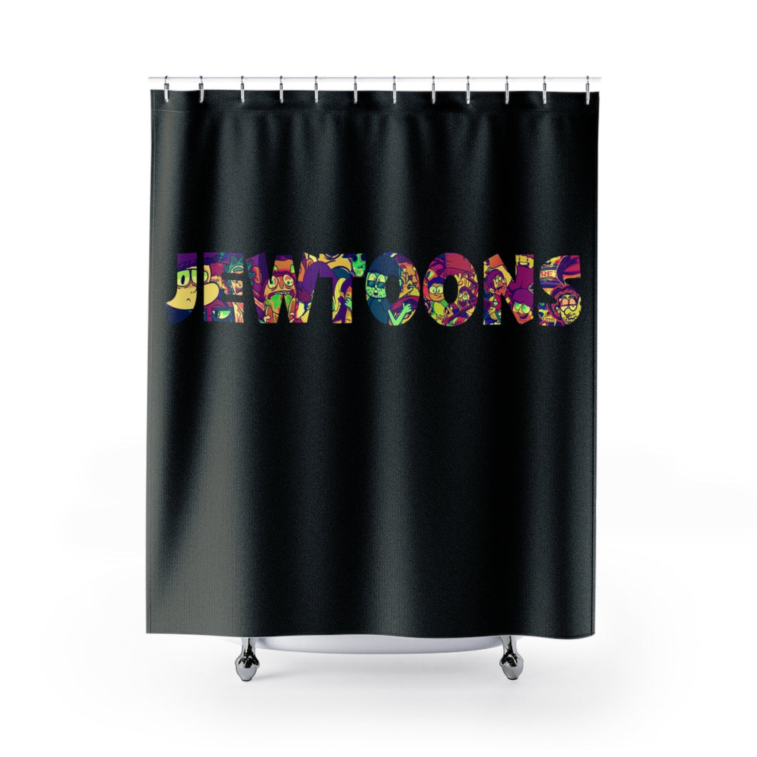 JewToons Shower Curtains