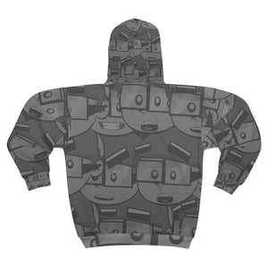 JewToons All around Hoodie! (Mono)