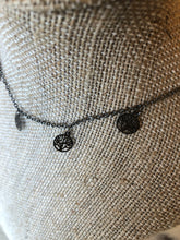 Gunmetal trees necklace