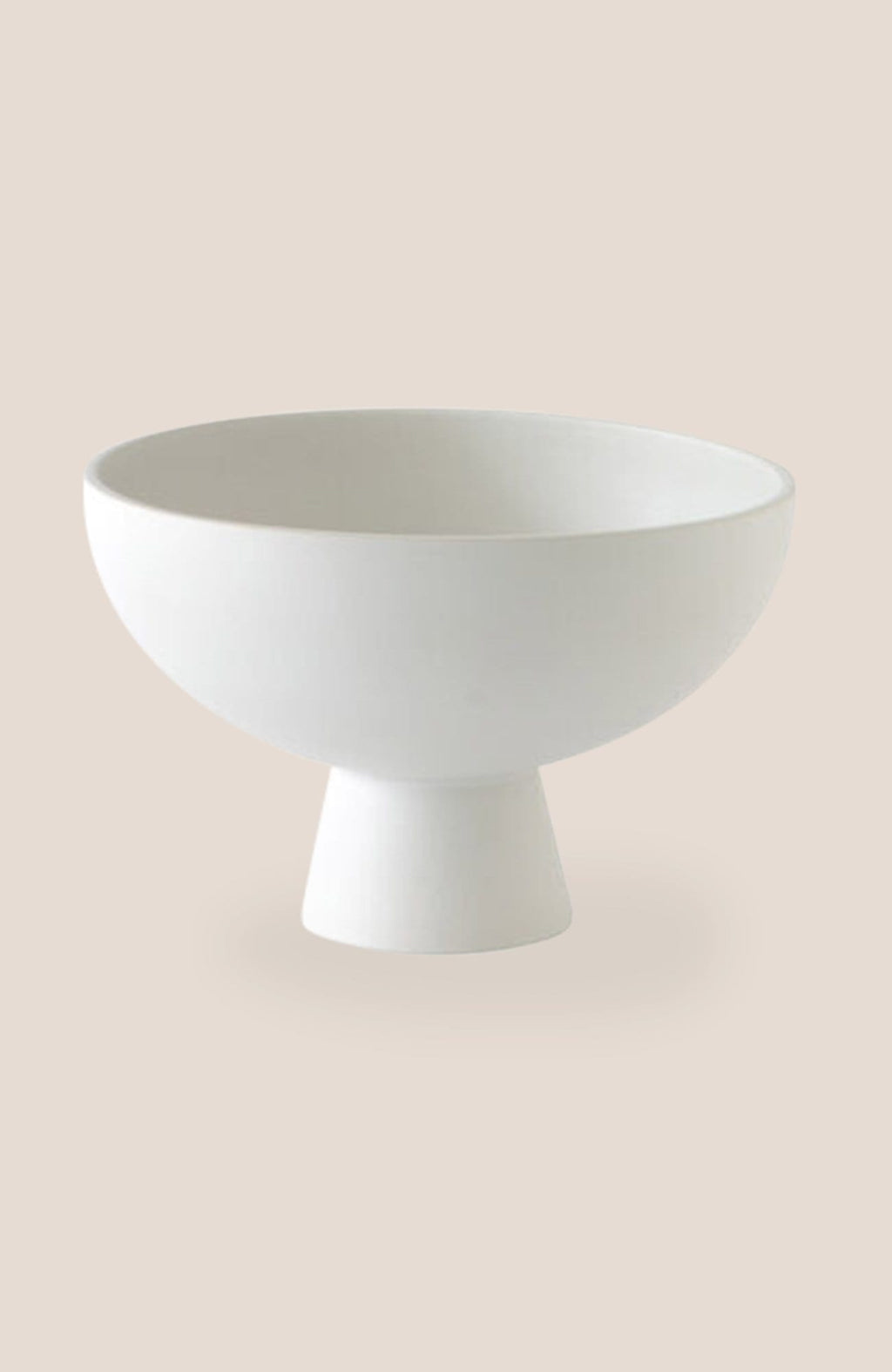 "Raawii Strøm Bowl - Vaporous White 4h x 6""diam - Home Decor 