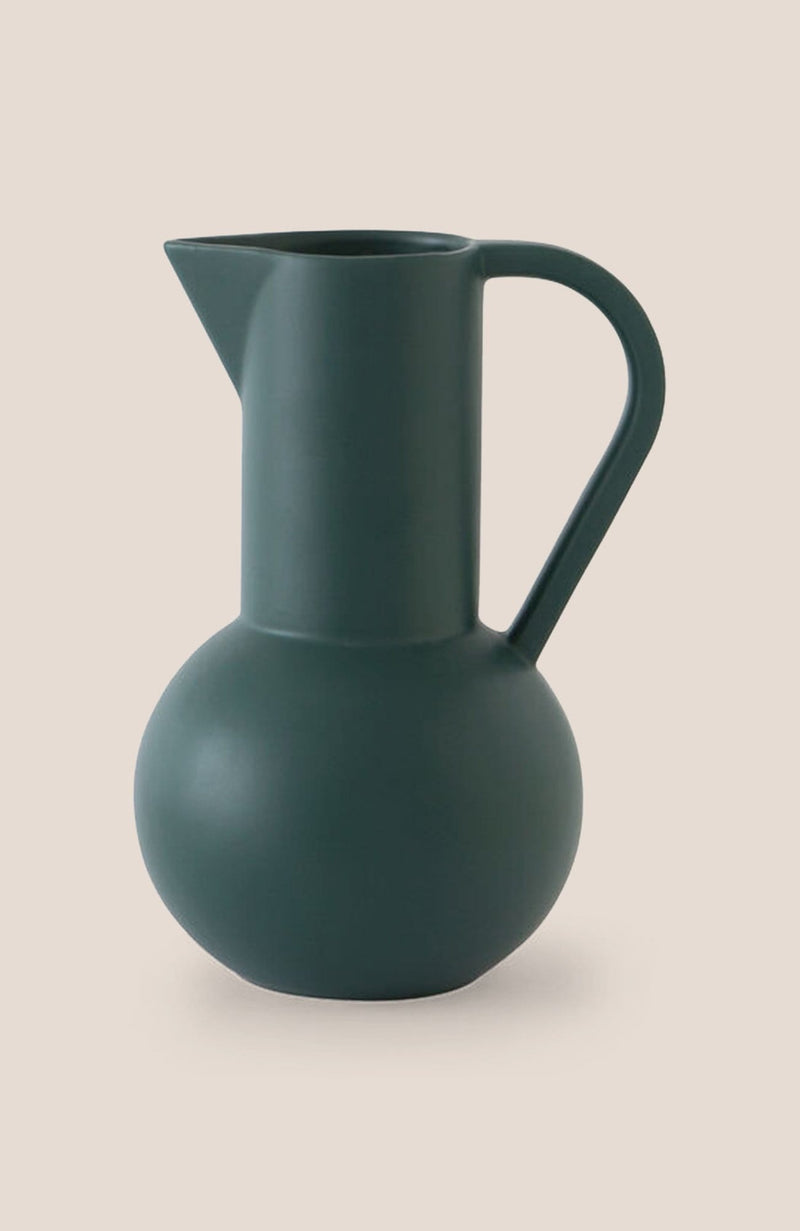 "Raawii Strøm Jug - Green Gables 11h x 7""diam - Home Decor 