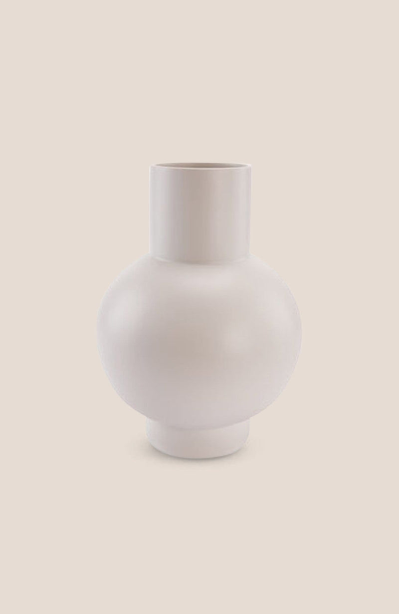 "Raawii Strøm Vase - Vaporous White 6h x 5""diam - Home Decor 