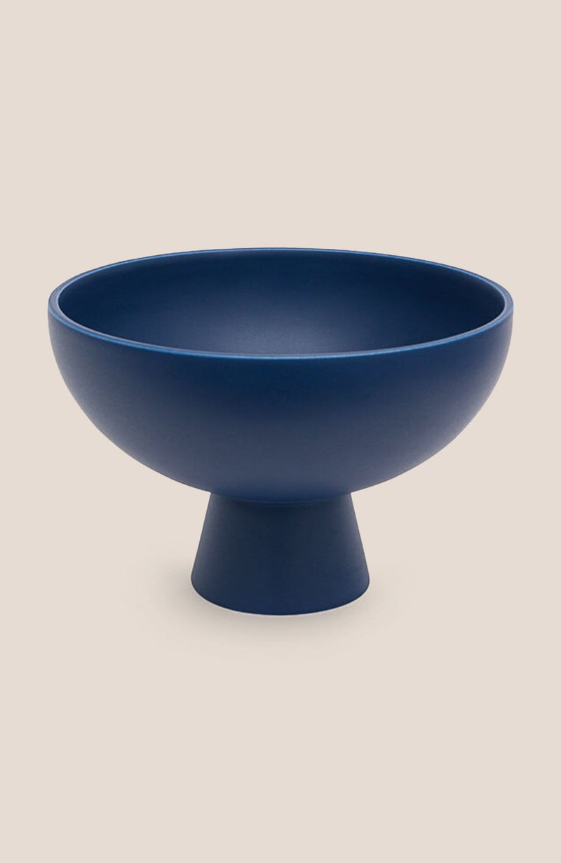 "Raawii Strøm Bowl - Blue 6h x 8.7""diam - Home Decor 