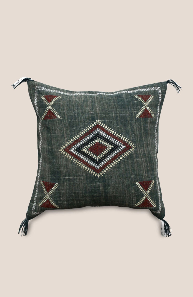 Sabra Pillow Cover Nar - Home Decor | Shop Baskets, Ceramics, Pillows, Rugs & Wall Hangs online