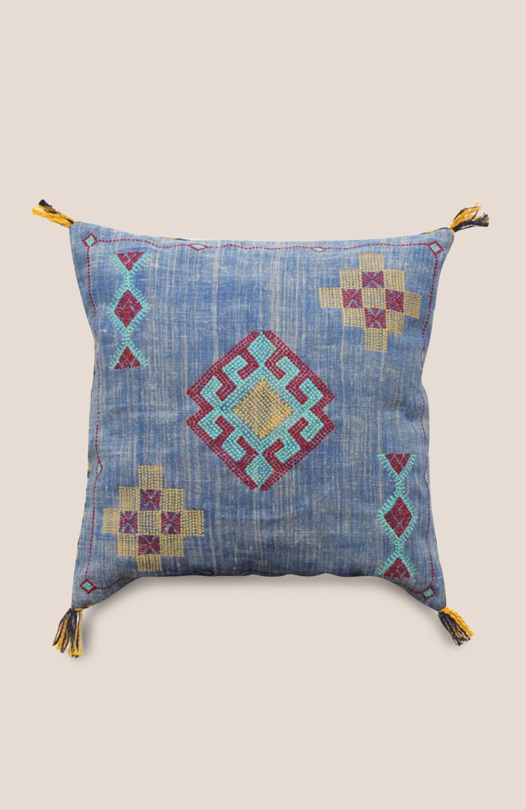 Sabra Pillow Cover Tala - Home Decor | Shop Baskets, Ceramics, Pillows, Rugs & Wall Hangs online