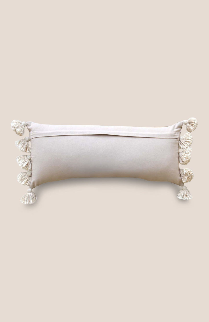 Sabra Pompom Pillow Cover Dara - Home Decor | Shop Baskets, Ceramics, Pillows, Rugs & Wall Hangs online