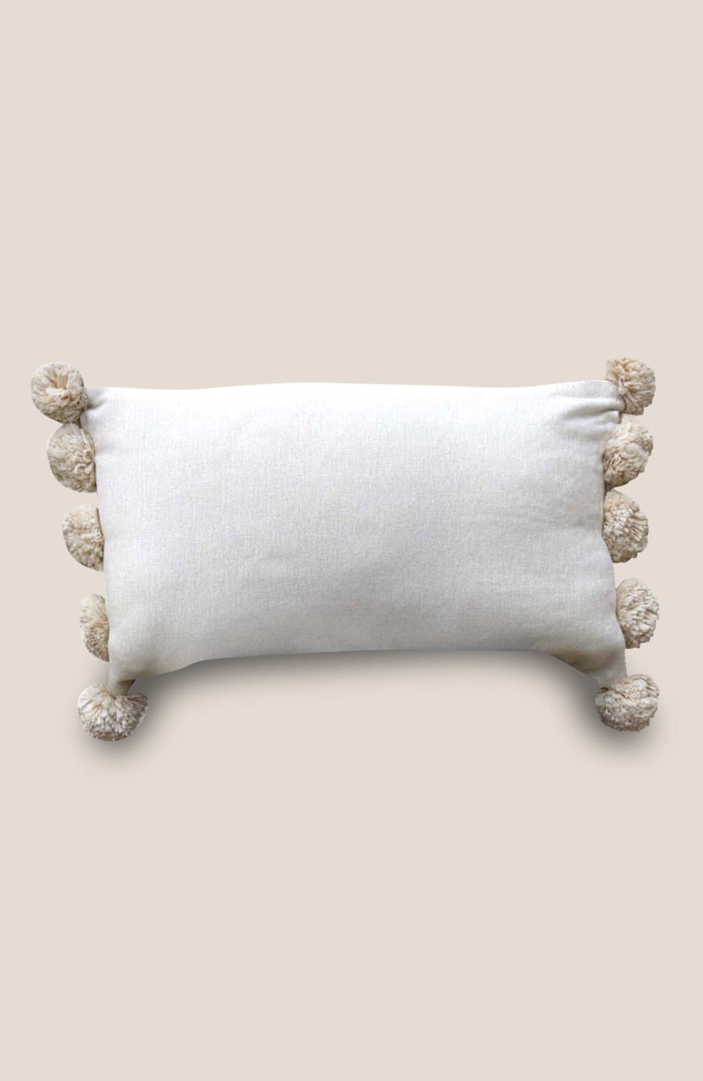 Pompon Pillow Cover Sage - Home Decor | Shop Baskets, Ceramics, Pillows, Rugs & Wall Hangs online