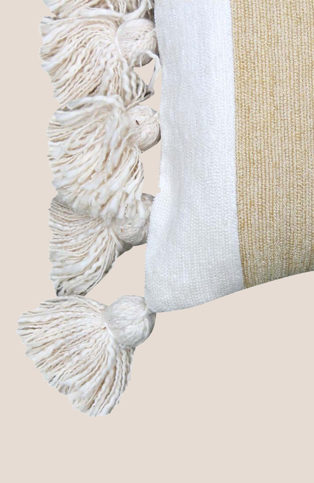 Pompon Pillow Cover Tessa - Home Decor | Shop Baskets, Ceramics, Pillows, Rugs & Wall Hangs online