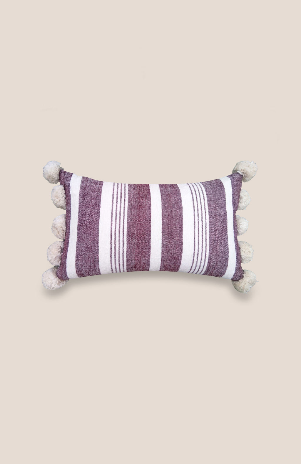 Pompon Pillow Cover Ray - Home Decor | Shop Baskets, Ceramics, Pillows, Rugs & Wall Hangs online