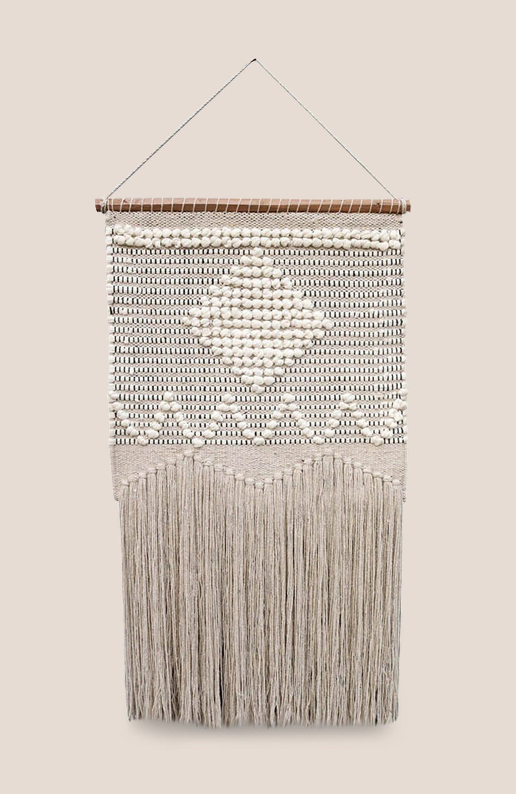 Macrame Wall Hanging Fin - Home Decor | Shop Baskets, Ceramics, Pillows, Rugs & Wall Hangs online