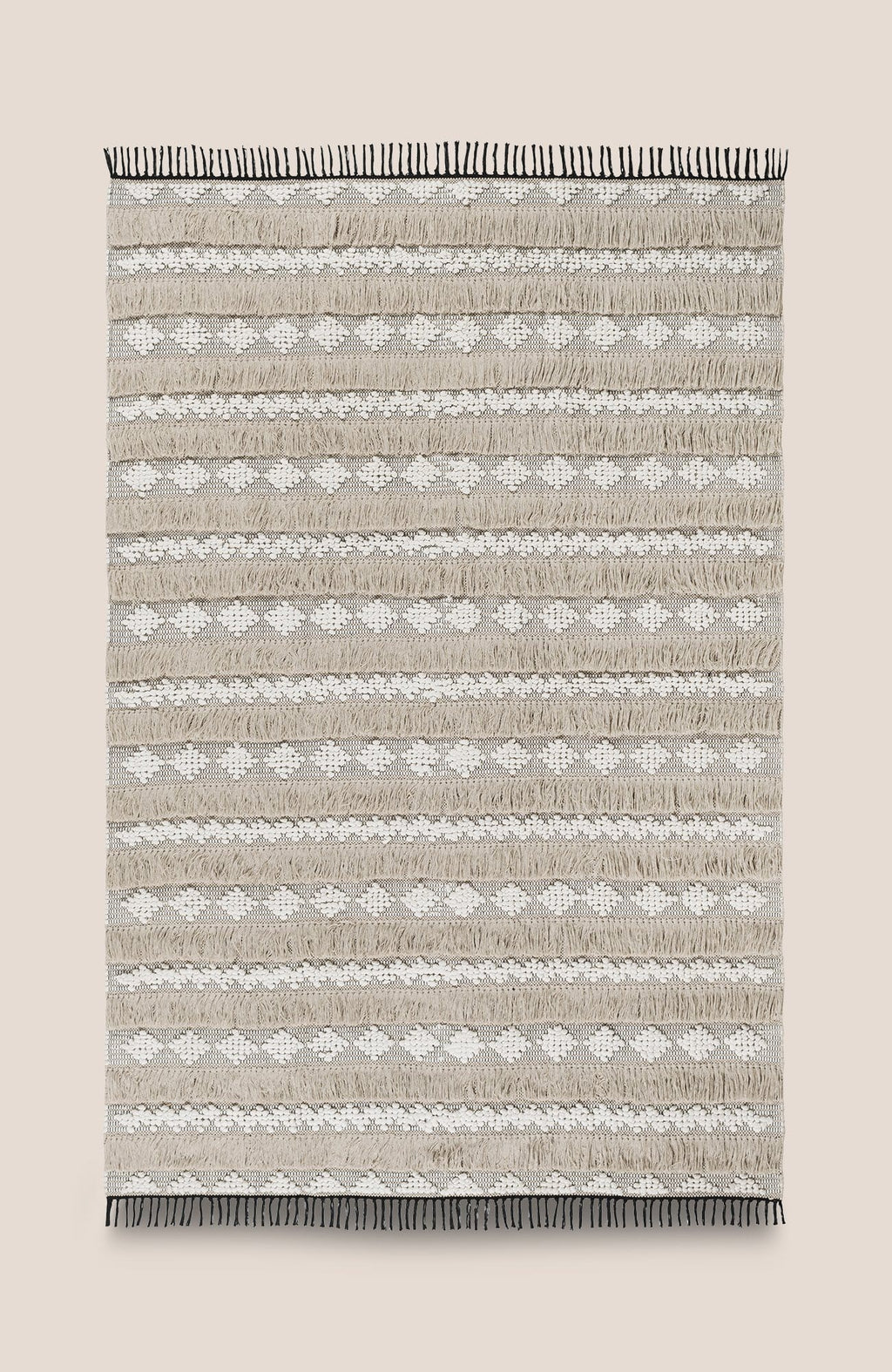 Boho Tassel Rug - Casa 6.5'x9.8' - Home Decor | Shop Baskets, Ceramics, Pillows, Rugs & Wall Hangs online