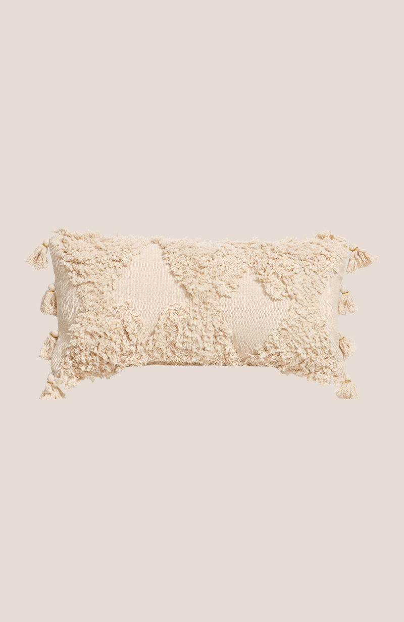 Boho Textured-Tassel Pillow Cover - Aria - Home Decor | Shop Baskets, Ceramics, Pillows, Rugs & Wall Hangs online