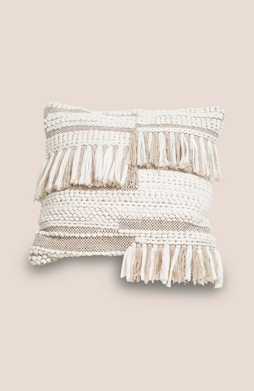 Boho Tassel Pillow Cover - Marra - Home Decor | Shop Baskets, Ceramics, Pillows, Rugs & Wall Hangs online