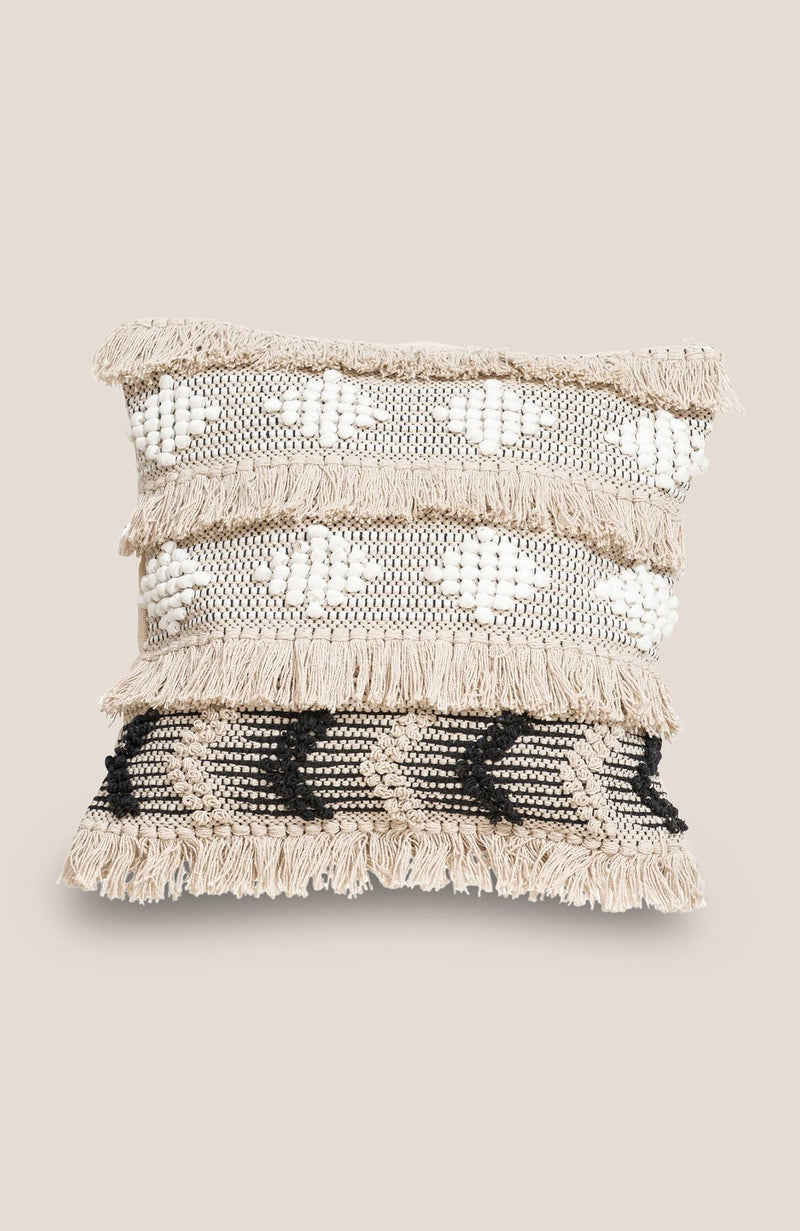 Boho Geometric Tassel Pillow Cover - Casa - Home Decor | Shop Baskets, Ceramics, Pillows, Rugs & Wall Hangs online