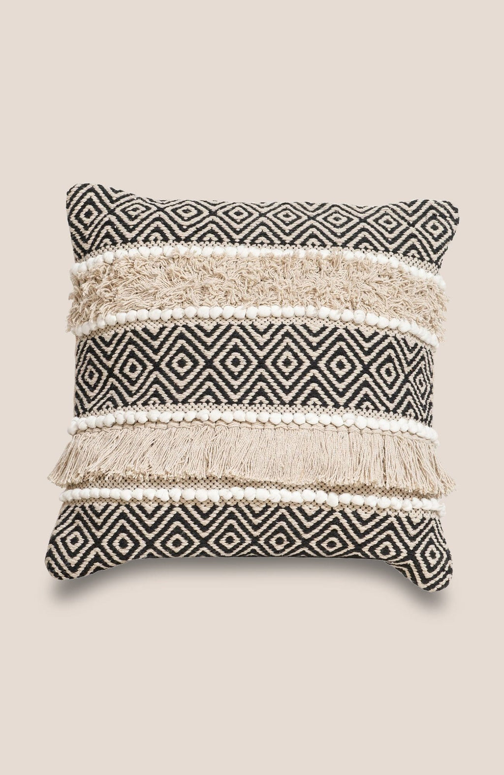 Geometric Boho Pillow Cover - Tribe - Home Decor | Shop Baskets, Ceramics, Pillows, Rugs & Wall Hangs online
