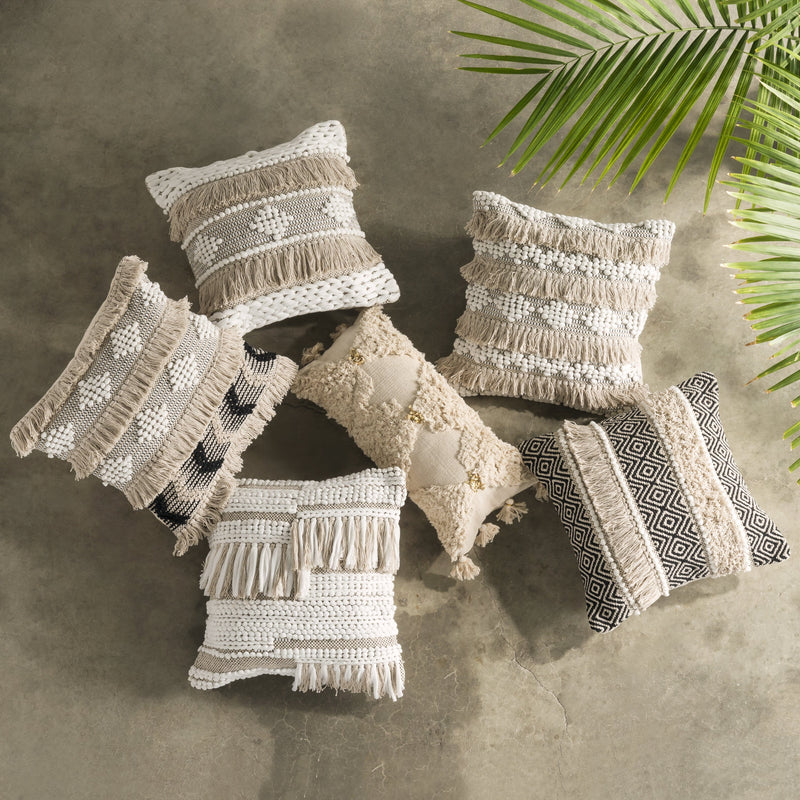 Scandi Boho Pillow Cover - Ember - Home Decor | Shop Baskets, Ceramics, Pillows, Rugs & Wall Hangs online