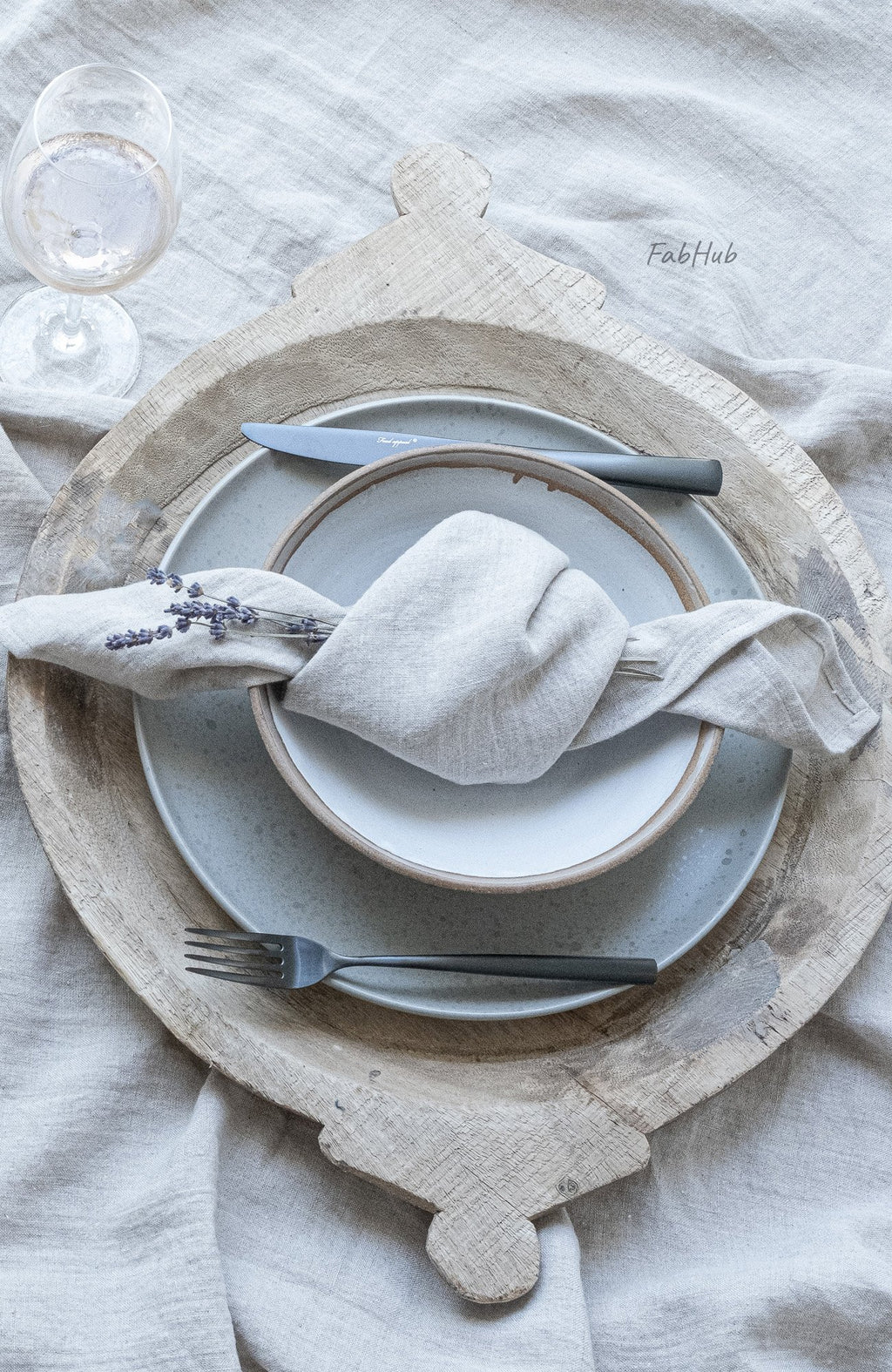 Natural Linen Tablecloth Set - Home Decor | Shop Baskets, Ceramics, Pillows, Rugs & Wall Hangs online