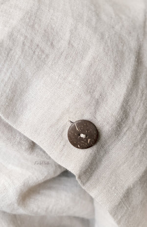 Natural Linen Duvet cover set - Home Decor | Shop Baskets, Ceramics, Pillows, Rugs & Wall Hangs online