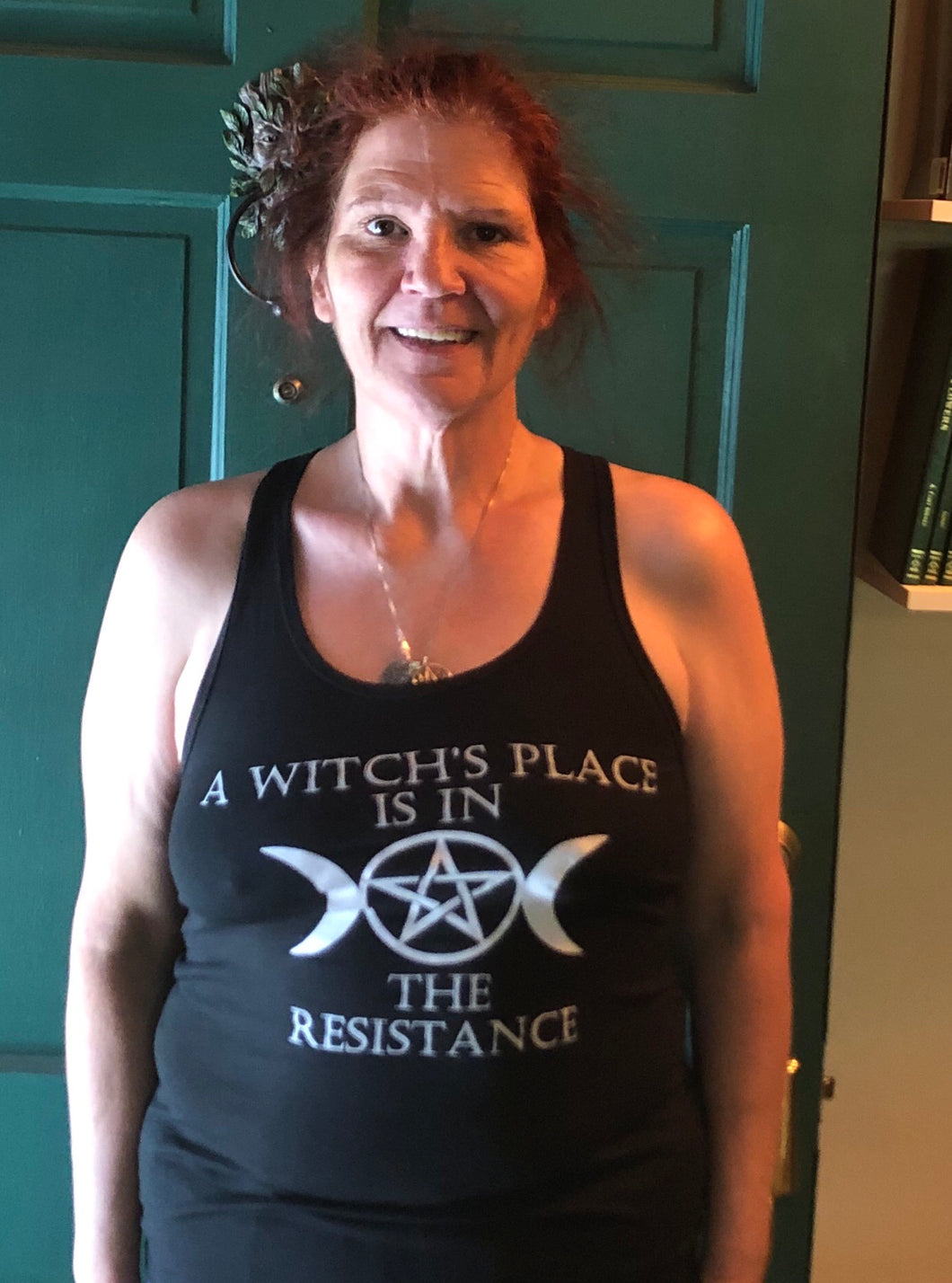Black Witches Resistance Tank Top