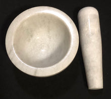 Load image into Gallery viewer, White Marble Mortar and Pestle