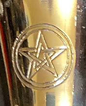Load image into Gallery viewer, Brass Pentacle Chalice