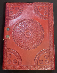 Leather Bound Blue Stone Journal