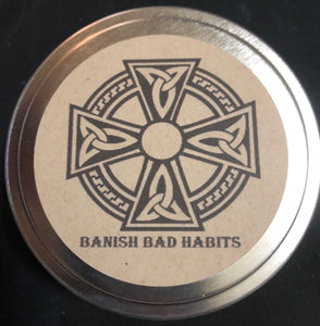 Banish Bad Habits Spell Candle
