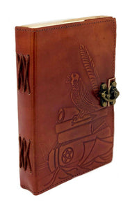 "5""x7"" Leather bound Crow Journal"