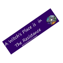 Load image into Gallery viewer, A Witch's Place Bumper Sticker