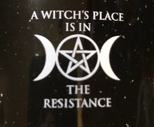Load image into Gallery viewer, Witches Resistance Enameled Metal Coffee Cup