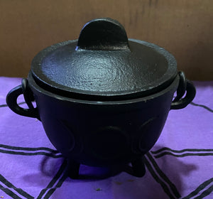 "4.5"" Triple Aspect Cauldron"