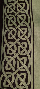 Celtic Earth Tapestry green and black