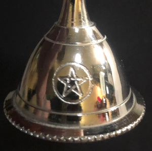 "3"" Silver colored brass bell (4 choices)"
