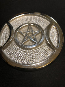 Triple Goddess/Pentacle Altar Tile